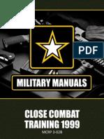 Close Combat Training - U.S. Marine Corp 1999