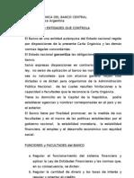 Carta Organica Del Banco Central