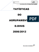 Estatísticas do Agrupamento D.Dinis 2006-2012