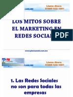 Los Mitos Sobre El Marketing de Redes Sociales