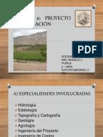 2 Especialidades Proyecto de Irrigación