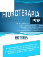 Hidroterapia 6to Cuatrimestre t