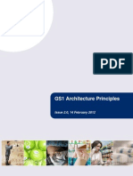 GS1 Architecture Principles