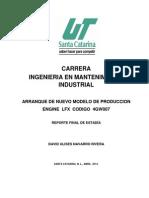Proyecto de La Carrera de Ing Mtto Ind.