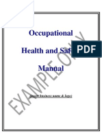 Ohs Manual Sample
