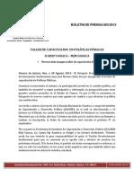 Boletin de Prensa 003-2013 Cde Pri Oaxaca