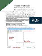 GeoGebra Mini Manual