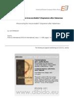 1.5 - Whitebook, Joel - Reconciling the Irreconciliable¿ Utopianism after Habermas (EN)