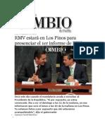 02-09-2013 Diario Matutino de Puebla - RMV estará en Los Pinos para presenciar el 1er informe de EPN