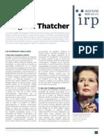 Margaret Thatcher, la dama de hierro