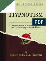 Hypnotism 1900