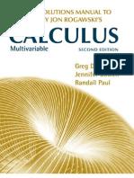 Rogawski Calculus - Multivariable Solutions