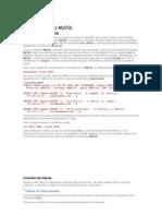 Tutorial de PHP y MySQL