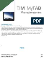 TIM MyTAB Manuale Utente