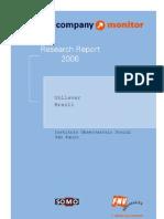 FNV Company Monitor- Unilever Brazil
