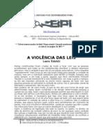 a violência das leis - leon tolstoi - bpi