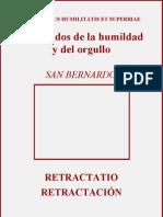 De Gradibus Humilitatis Et Superbiae San Bernardo No 2