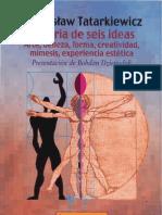 Tatarkiewicz - Hist Seis Ideas Cap8