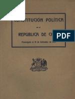 Constitucion de Chile 1925