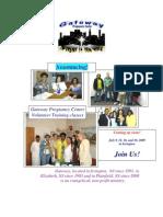 Volunteer Training Brochure July 2009