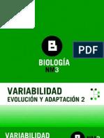 evolucion y adaptacion