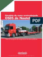 Nooteboom Brochure OSDS Semi-Lowloaders (Spanish)