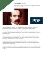 José Manuel Balmaceda Fernández