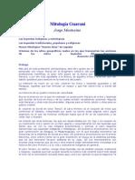 Montesino.Mitología Guaraní