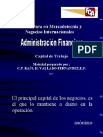 Adm on Del Capital de Trabajo 1