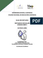 GUÍA ESTUDIOS SOCIALES. OCTAVO