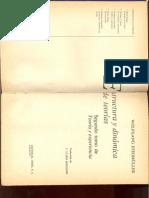 Estructura y Dinamica de Teorias