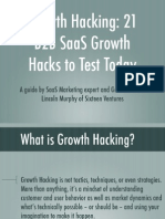 Growth Hacking b2b SaGrowth Hacking