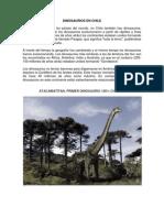 Dinosaurios en Chile