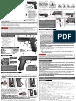 Beretta PX4 Storm Air Pistol Manual