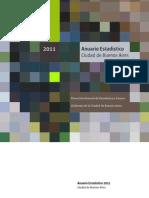 Anuario Estadistico 2011 CABA