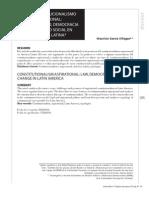 Constitucionalismo aspiracional derecho, democracia y cambio social en Ámerica Latina