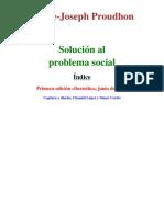 Solucion Al Problema Social