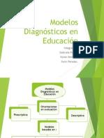 Modelos Diagnosticos en Educacion