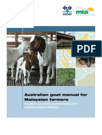 Australian Goat Manual for Malaysian Farmers