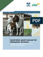 Australian Goat Manual for Malaysian Farmers