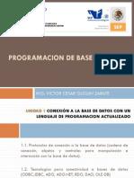 Programacion de Base de Datos