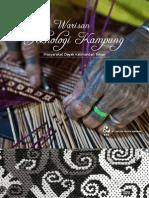 Warisan Teknologi Kampung Masyarakat Dayak Kalimantan Timur