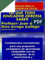 Lo Que Todo Educador Deberc3ada Saber