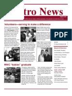 MWC Newsletter August 2013