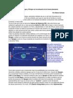Valores de Distancia- Apogeo y Perigeo en la evaluación de la fuerza planetaria.
