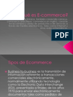 Tipos de E-commerce