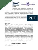 Idiomas de Guatemala y Belice