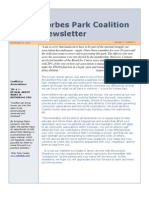 v1 2forbes park coalition newsletter