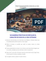 100 MANERAS PRÁCTICAS DE IMITAR A DIOS EN LA VIDA COTIDIANA