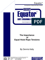 Importance of Equal Hoist Rope Tensions